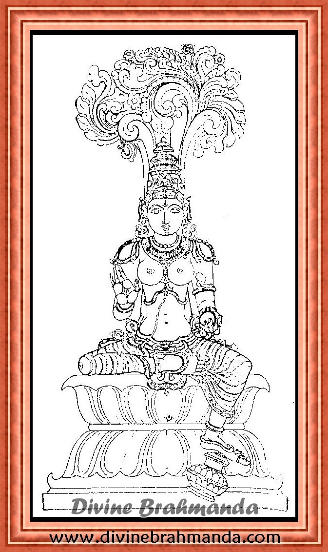 Soundarya Lahari Sloka, Yantra & Goddess To Obtain Riches - 91