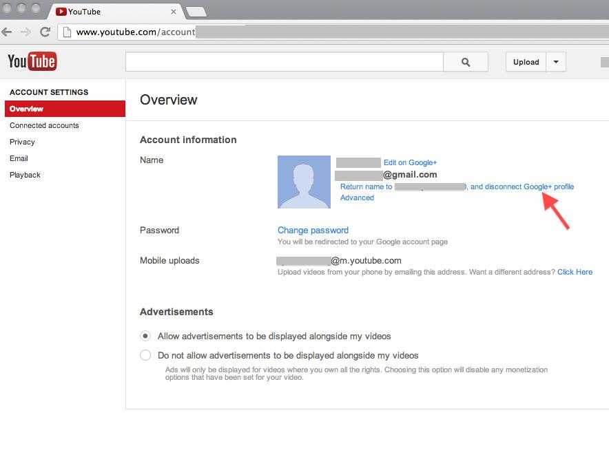 you change your username on youtube