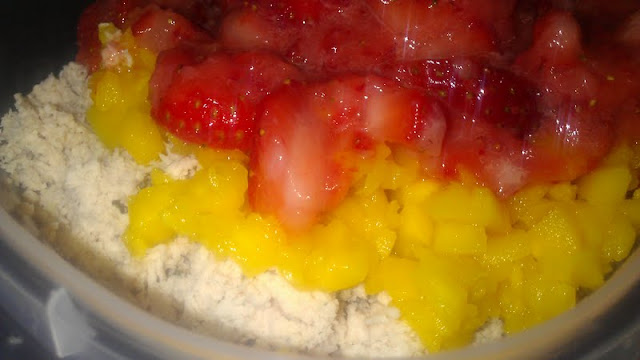 strawberry mango chicken