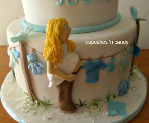 Taryn's Baby Shower Cake