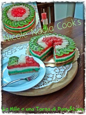 """cheesecake """"tricolore"""