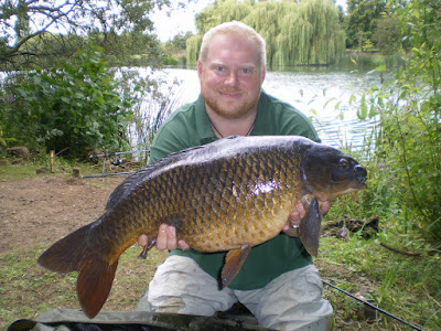Matt Groves with a 20lb Common Carp