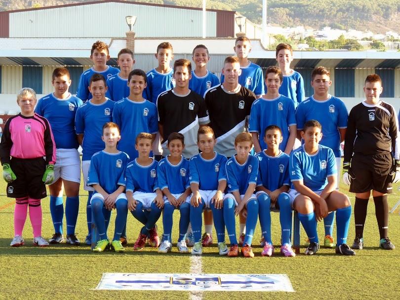 "Plantilla del Club Deportivo Alhaurino Infantil ""B"""