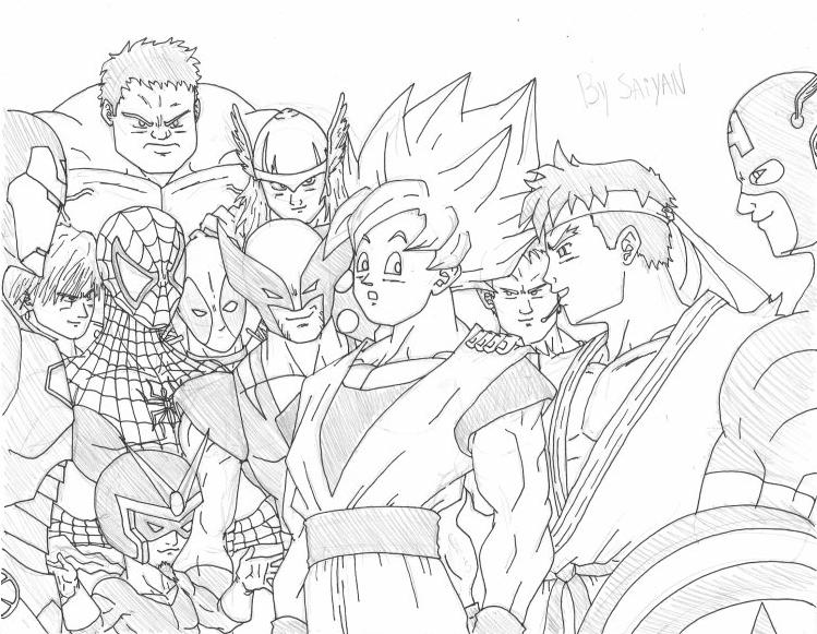 Imagenesde99 Imagenes De Goku Fase 10 Para Descargar: Imagenesde99: Imagenes Para Colorear De Goku Fase 10