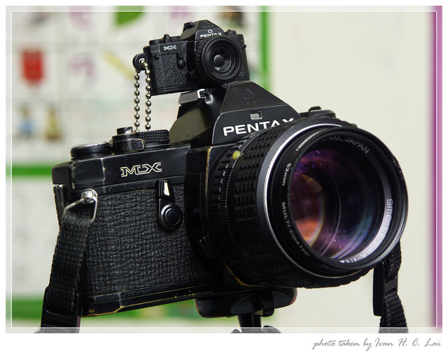 Pentax MX黑機大小合體