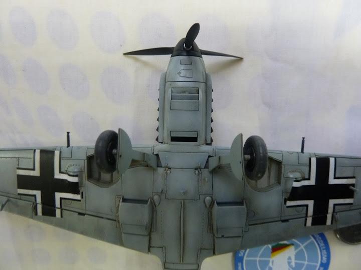 Bf-109 E-3 Tamiya 1/48 - Reforma pintura P1020662