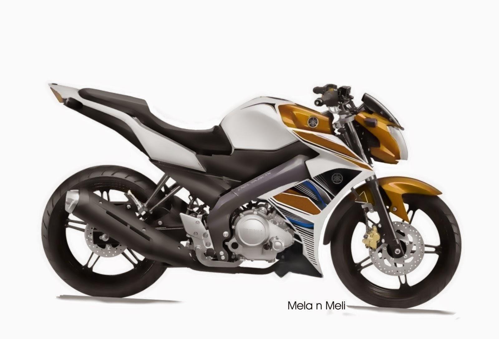 Yamaha New Vixion Modifikasi Full Fairing