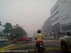 Gambar Terkini Masalah Jerebu Di Johor