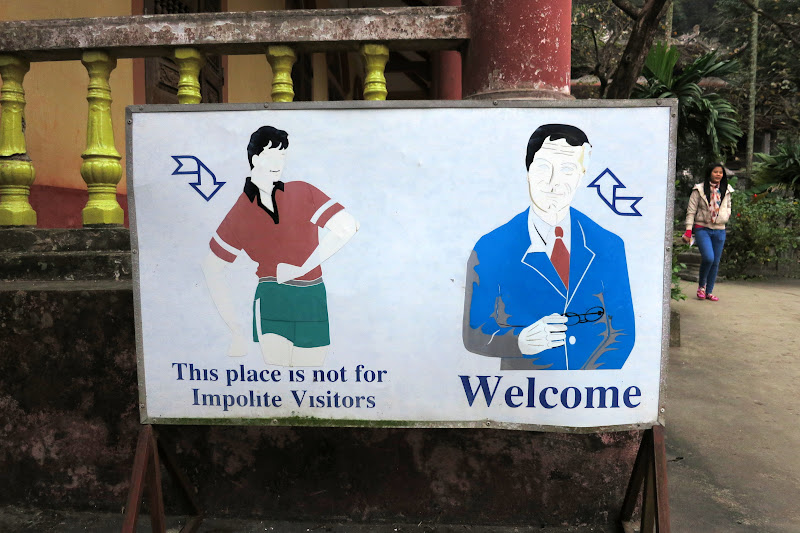 This place is not for impolite visitors