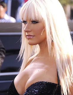 Christina Aguilera looking great