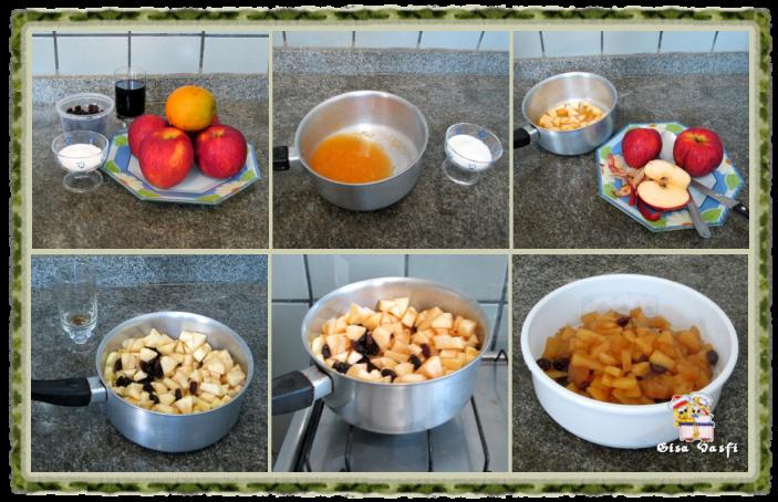 Torta licorosa de maçãs 5