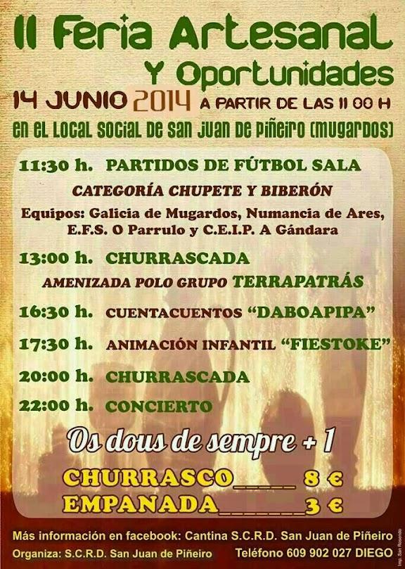 II Feria Arteesanal y de Oportunidades de San Juan de Piñeiros de Mugardos