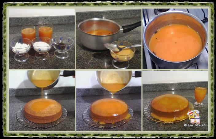 Bolo cremoso de tangerina 6