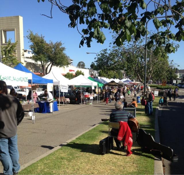 Berkeley organic farmers market