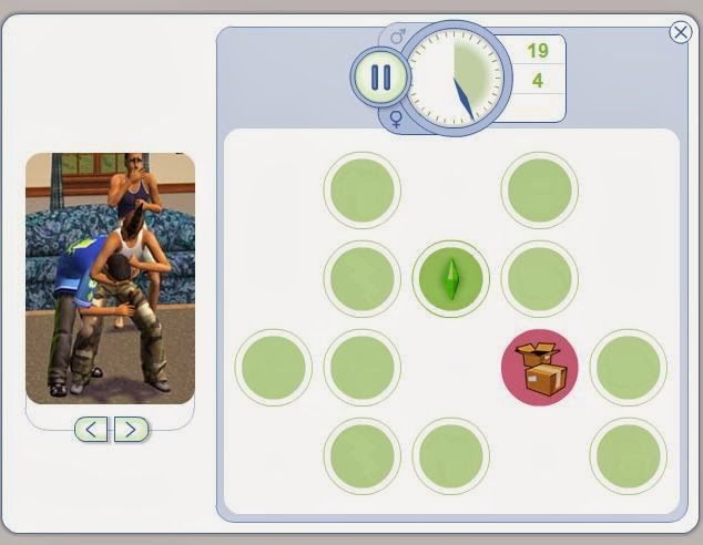 Mini juego sims 2