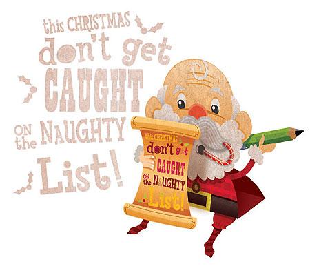 Santa Claus Papercraft Standee
