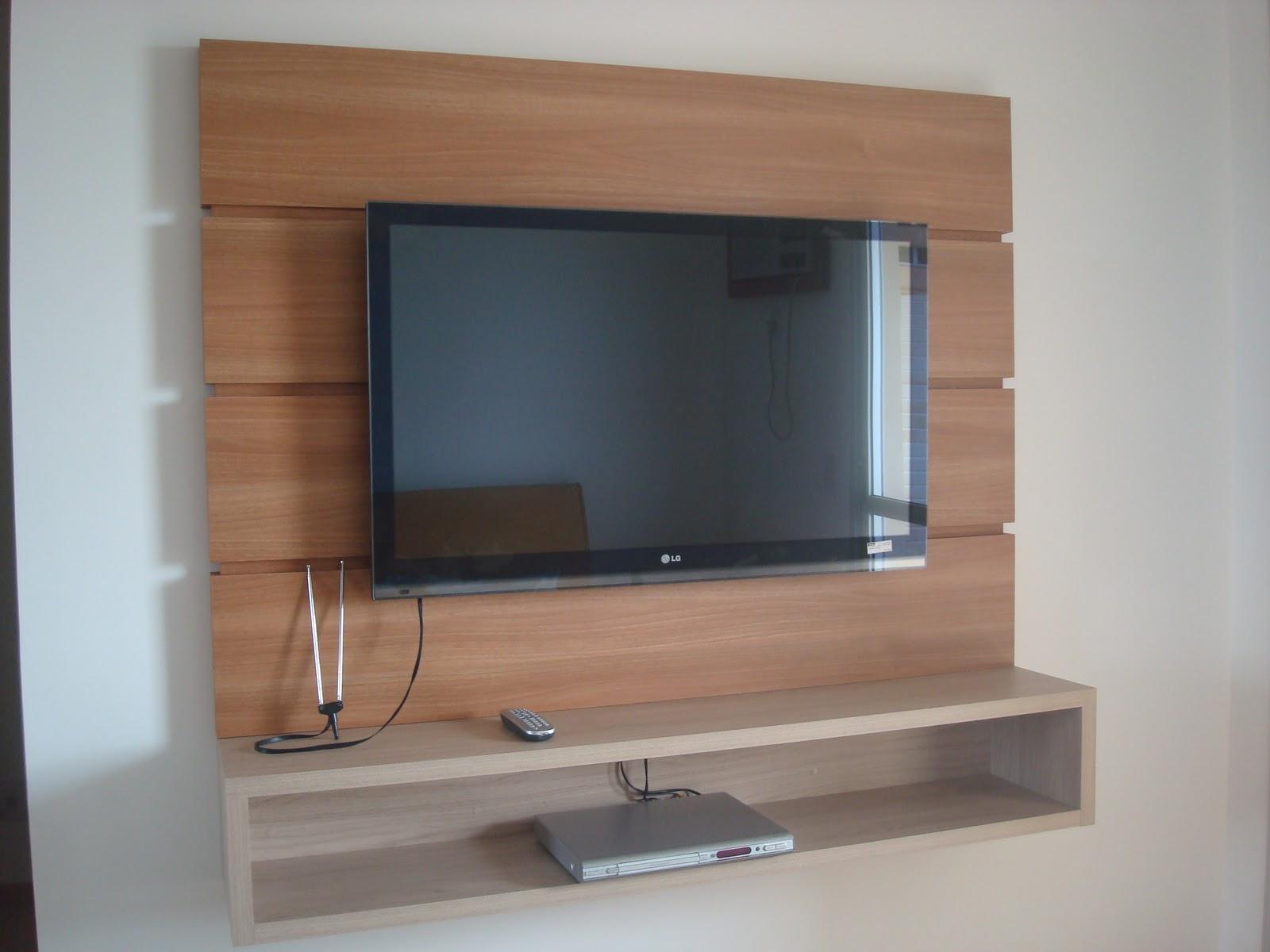 Sala De Tv Projetada ~ MÓVEIS PROJETADOS Carlos Painel para TV de Plasma ou LCD