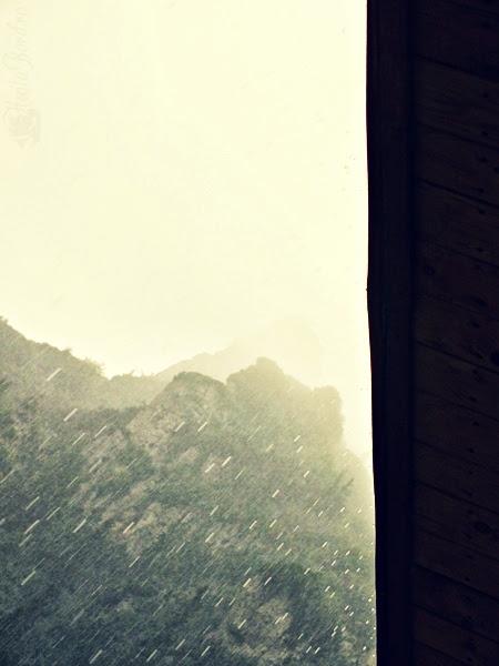 ploaie la cabana malaiesti