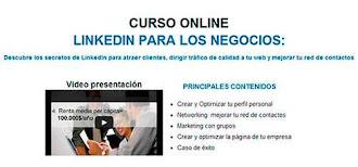 """Últimas plazas gratuitas para el webinar """"LinkedIn para los negocios"""""""