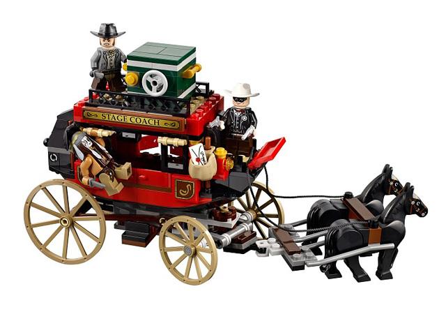 79108 レゴ ローンレンジャー 馬車での逃走