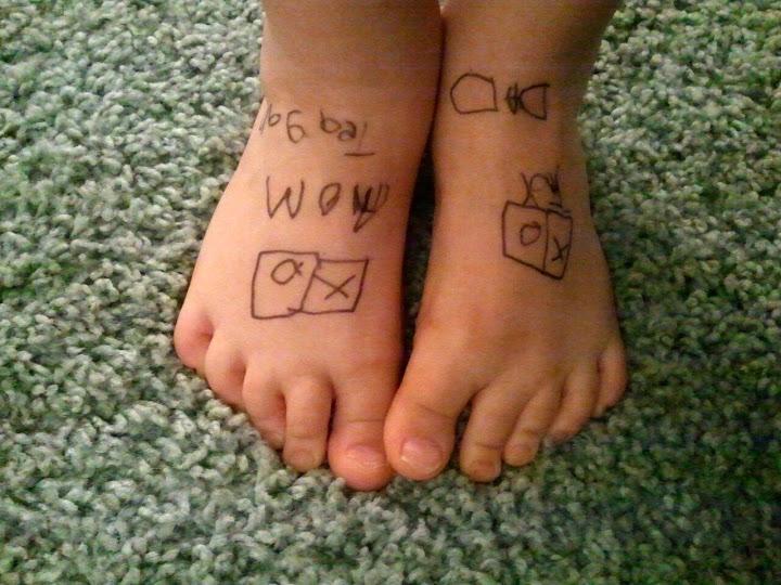 Teagan's Feet