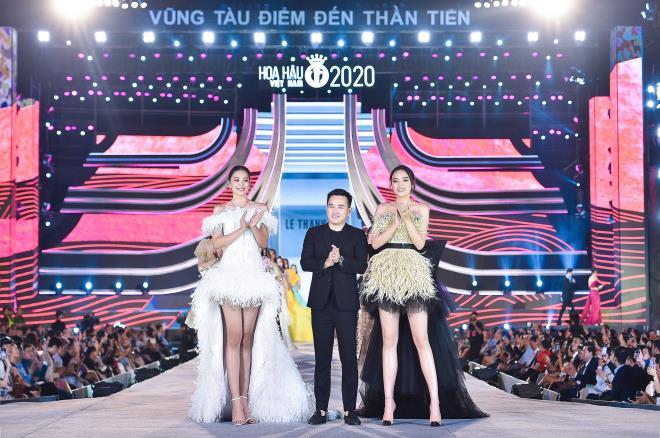 Kỳ Duyên, Đỗ Mỹ Linh khoe chân dài trong đêm thi của 'Hoa hậu Việt Nam' - 6