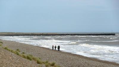 Stormy seas at Walberswick