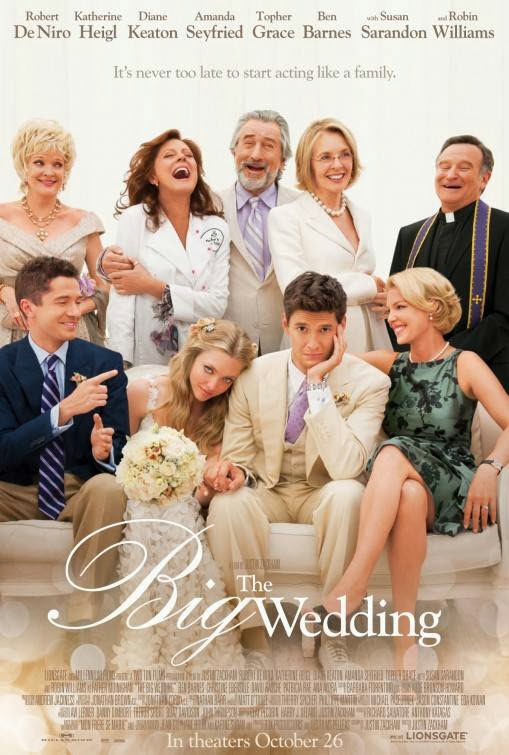 Poster Of English Movie The Big Wedding (2013) Free Download Full New Hollywood Movie Watch Online At Alldownloads4u.Com