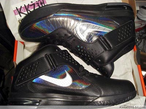 Nike Air Max Soldier V 5 8211 BlackIridescent 8211 Upcoming Colorway