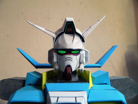 Mobile Suit Gundam AGE Papercraft