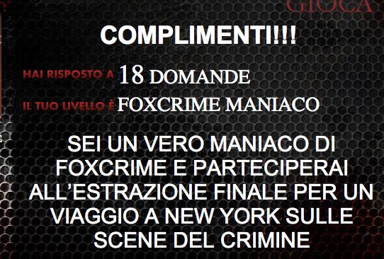 fox crime mania