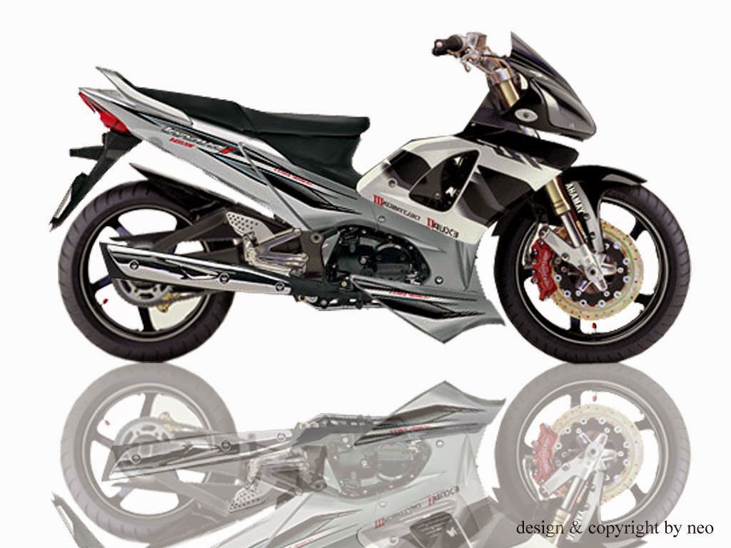 Modifikasi Motor Supra X 125 Road Race