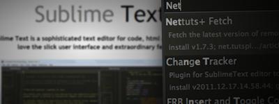 Sublime TextとNettuts+ Fetchで音速のスタートアップ