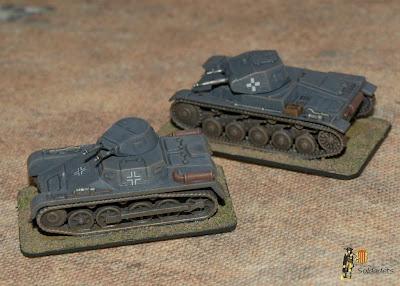 Panzers I & II