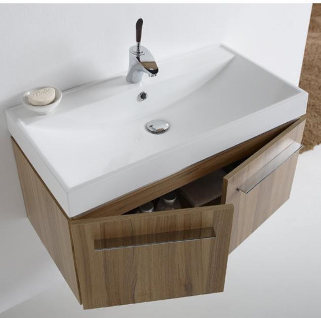 El blog del ba o mueble suspendido regency - Encimeras de madera para banos ...