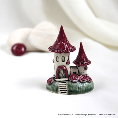 Hand Made Ceramic and pottery Eco-Friendly Home Decor by Elly Vishnevsky.
