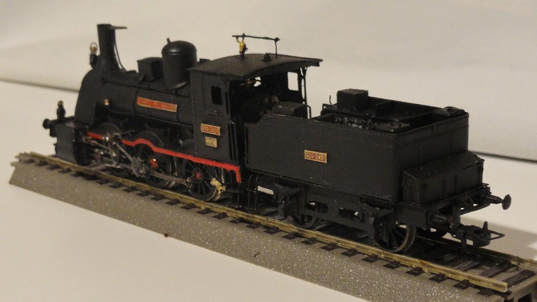Locomotora vapor Renfe Varela de Montes 030-2431 H0