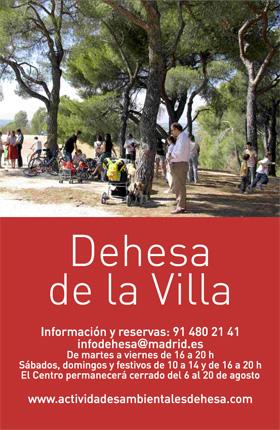 Actividades en la Dehesa de la Villa por la Semana Europea de la Movilidad 2013