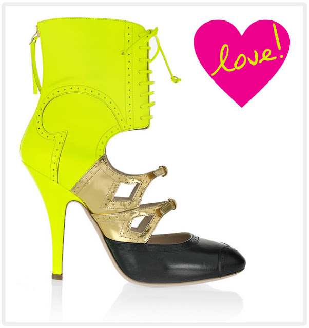 Neon and metallics… why not?