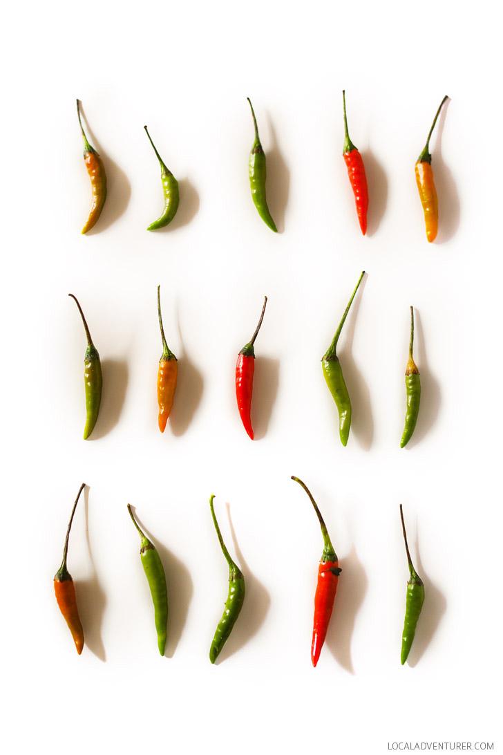 Spicy Papaya Salad Recipe // Tried and True Recipes.
