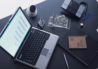 stock trading desk