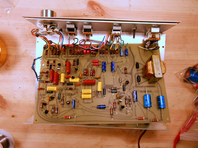 Bose 901 Series I Early Production Active Equalizer #11949 Repaired |  RETROVOLTAGERETROVOLTAGE