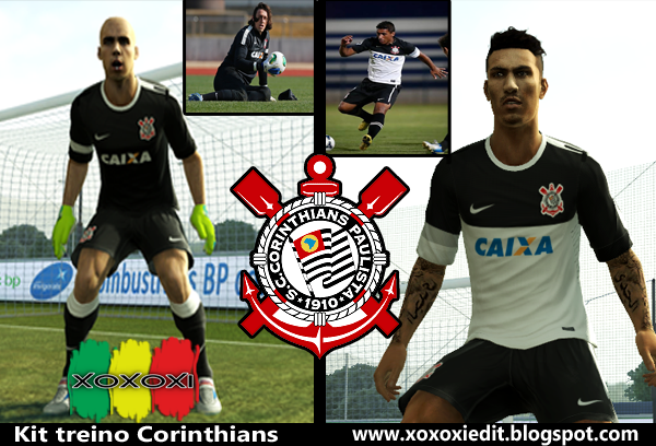 Kit de Treino do Corinthians - PES 2013