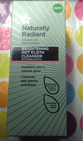 Naturally Radiant Hot Cloth Cleanser