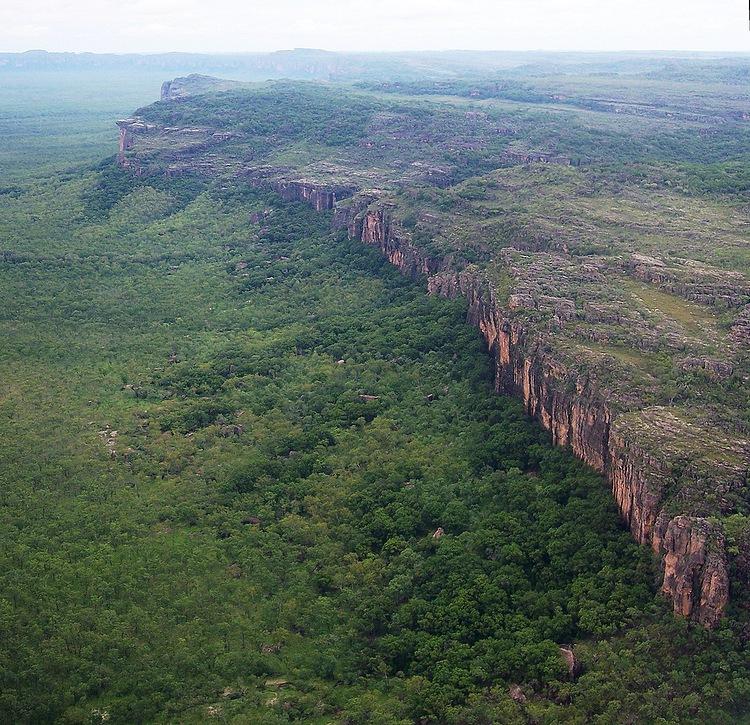Природная граница Национального парка Какаду