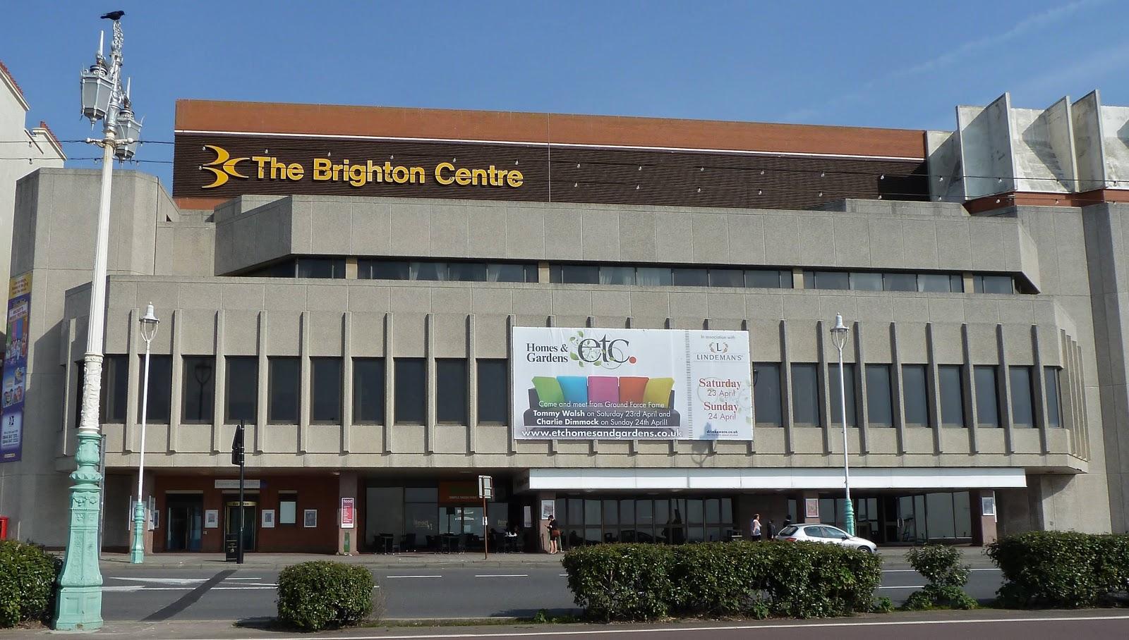 Brighton bits brighton centre revamp for The brighton