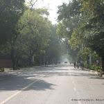 Grande avenue de New Delhi construit lors du Raj Britannique