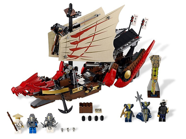 9446 レゴ 飛行戦艦ニンジャゴー