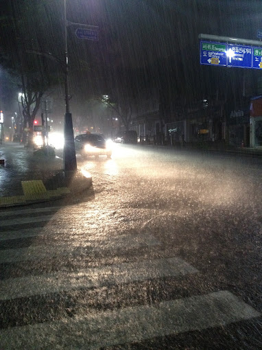 Jeju Typhoon