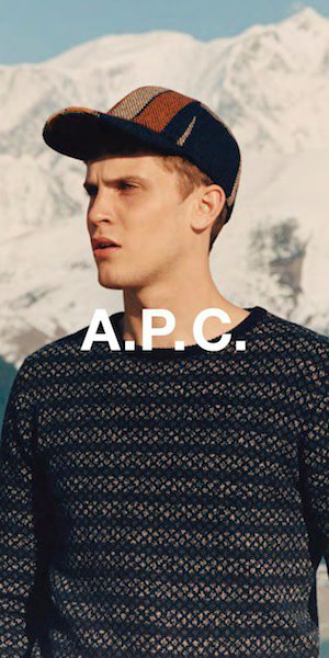 William Eustace by Venetia Scott for A.P.C. Winter 2011